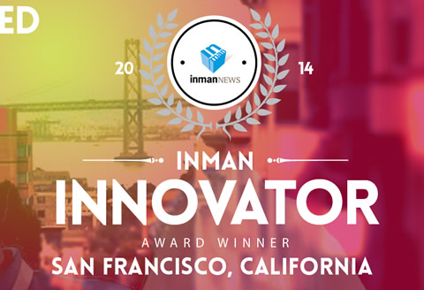 Winner of 2014 Inman Innovator Awards